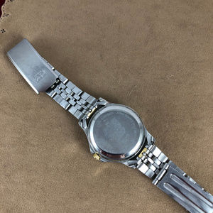 Paolo Accessories - Vintage Paolo Gucci Crystal 2 Tone Crystal Watch